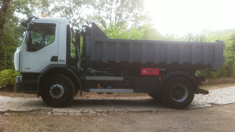Camion ampliroll de 19 tonnes
